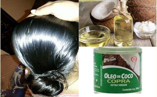 Como usar aceite de coco en el cabello